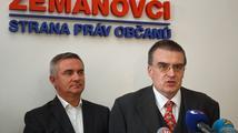Zeman: Ministr Žák (SPOZ) si může dělat cokoliv, co mu nezakazuje ústava