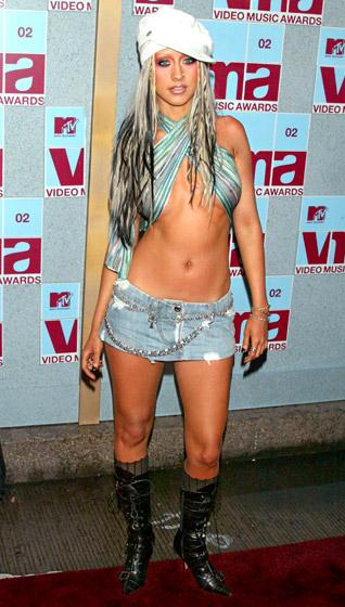 Christina Aguilera, rok 2002