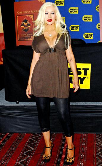 Christina Aguilera, rok 2008