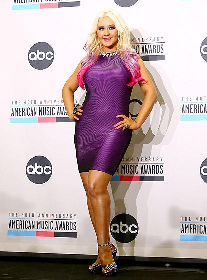 Christina Aguilera, rok 2012