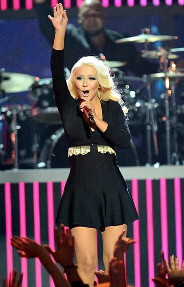 Christina Aguilera, rok 2013