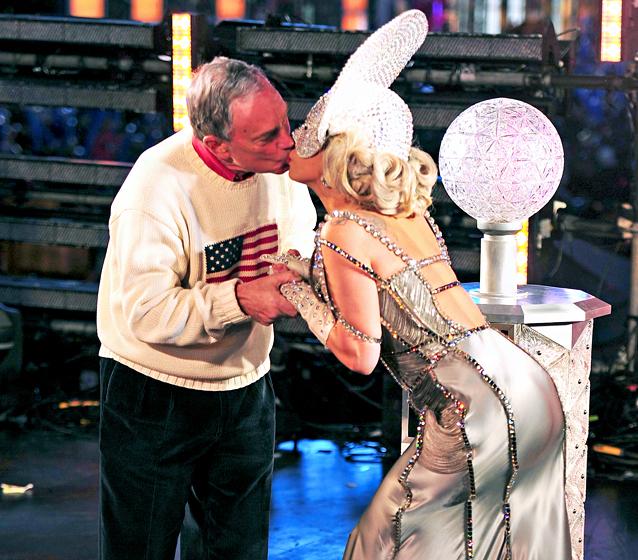 Michael Bloomberg a Lady Gaga
