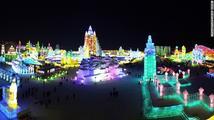Čína vytvořila nový svět z ledu