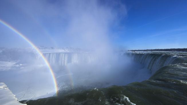 Niagarské vodopády, 9.1.2014