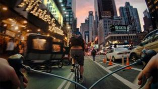 Cyklista v New Yorku