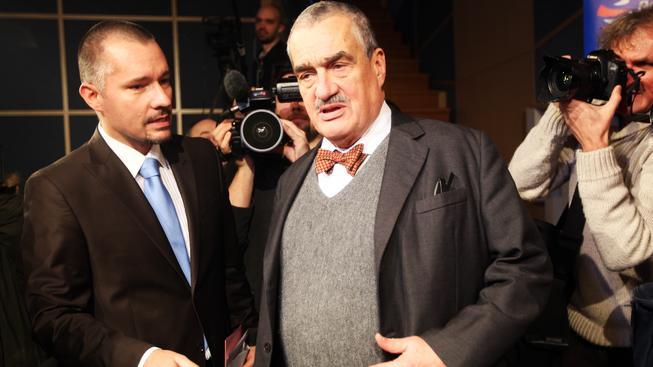 Martin Veselovský (vlevo)