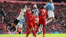 Liverpool porazil Manchester City a zůstává v čele anglické ligy