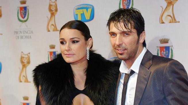 Buffon potvrdil rozpad manželství s modelkou Šeredovou