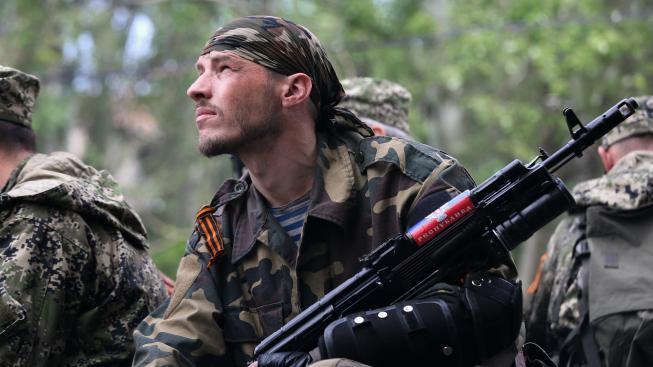 Proruští separatisté (Ilustrační snímek)