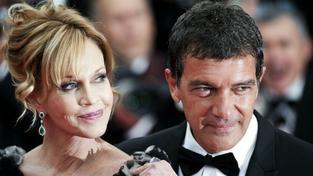 Melanie Griffithová a Antonio Banderas
