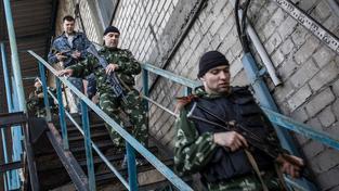 Povstalci v Doněcku