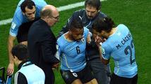 Uruguayec Pereira odmítl střídat po otřesu mozku! Zešílel jsem, omlouval se