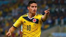 James Rodríguez je nejlepší hráč mistrovství, řekl trenér poražené Uruguaye
