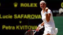 Petra vyhraje, bude to mít lehčí, prorokuje před finále Wimbledonu Martina Navrátilová