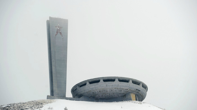 Monument Buzludzha, Bulharsko