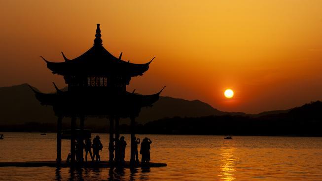 Západní jezero, Čína