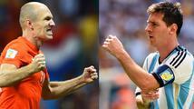 Robben je lepší než ten váš Messi, provokují před večerním semifinále MS Nizozemci