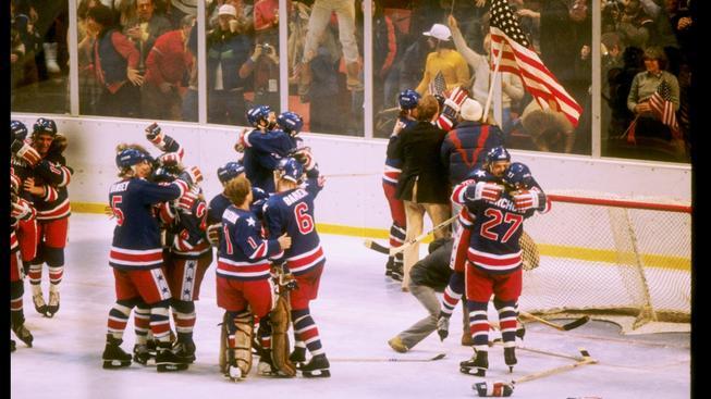 hokejisté USA na ZOH v Lake Placid v roce 1980