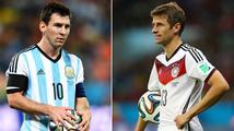 Velké finále je tady! Messi se může stát legendou, Němci mu prý ale nedovolí nic