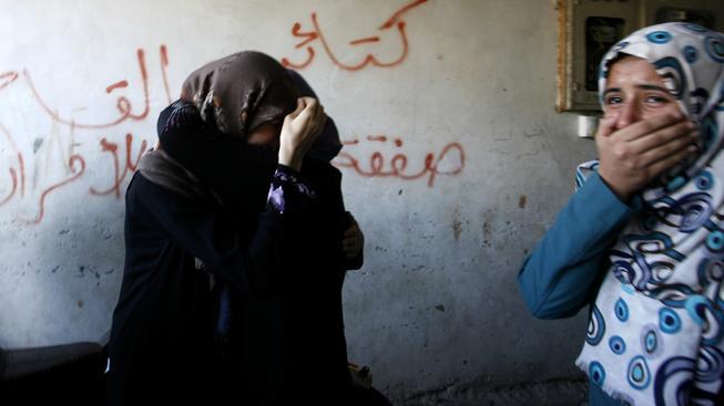 palestina, ženy, pláč