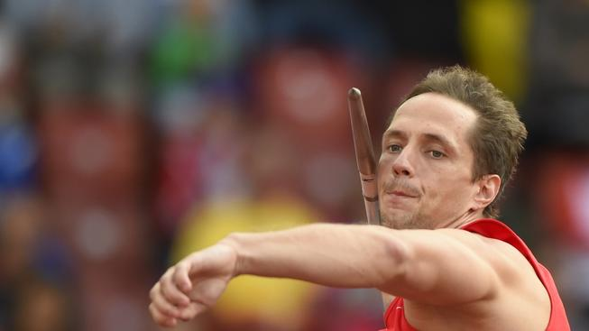 Oštěpař Veselý vybojoval stříbro na mistrovství Evropy. První je Fin Ruuskanen