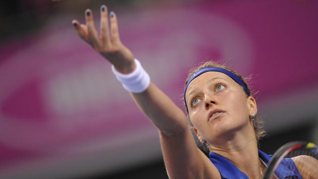 Tenistka Kvitová postoupila ve Wu-chanu do semifinále