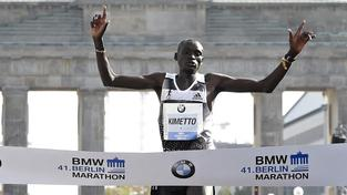 Keňan Kimetto se na berlínském maratonu postaral o nový světový rekord
