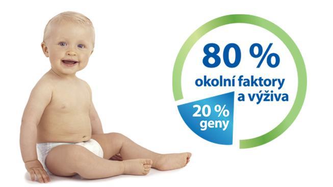 Zdraví dítěte v dospělosti mohou rodiče ovlivnit až z 80 %
