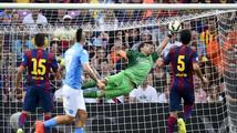 Neprůstřelná Barcelona. Bravo nedostal gól sedm zápasů a má rekord