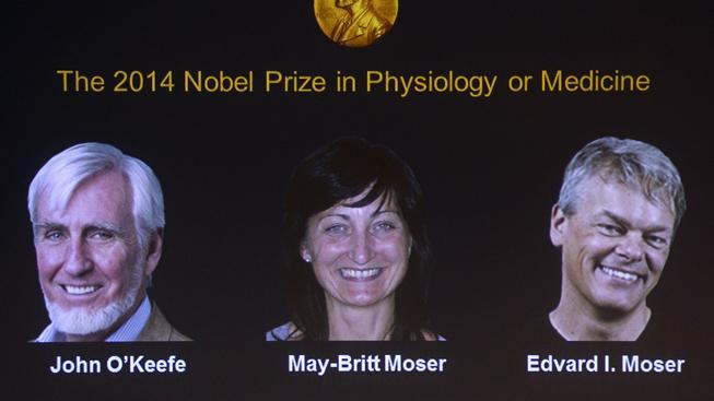 Nobelova cena za lékařství 2014