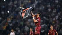 Srbsko-albánské kočkování na fotbale vyvolalo lidové nepokoje