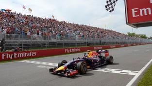 Cílová rovinka při Grand Prix formule 1 (ilustrační foto)
