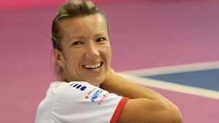Tenistka Květa Peschkeová