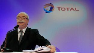 Šéf francouzského ropného a plynového gigantu Total Christophe de Margerie