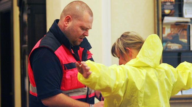Záchranáři uspořádali obří protiteroristické cvičení
