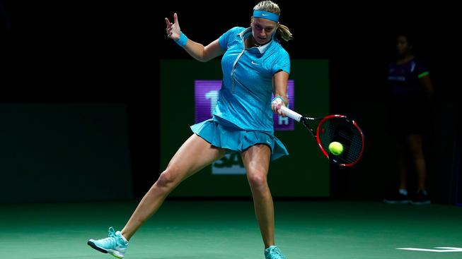 Šanci na semifinále zachrání jen vítězka: Kvitová vyzve Šarapovovou
