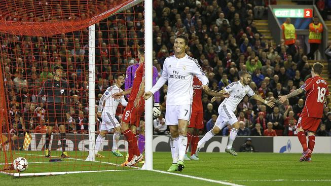 LM: Real rozhodl šlágr v Liverpoolu už v první půli, Arsenal vydřel výhru v závěru