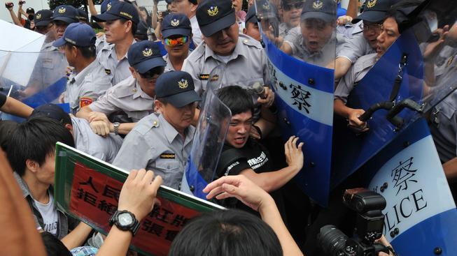 Tchaj-wan, protesty