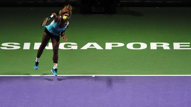 Williamsová v Turnaji mistryň zdolala Wozniackou, která vyřadila Kvitovou