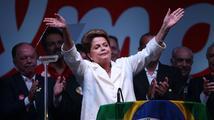 Rousseffová vyhrála prezidentské volby v Brazílii. Vyzývá k dialogu a sjednocení celé země