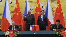 Zeman Tibet ani Tchaj-wan neuznává. Přednější je přátelství krtečka a pandy