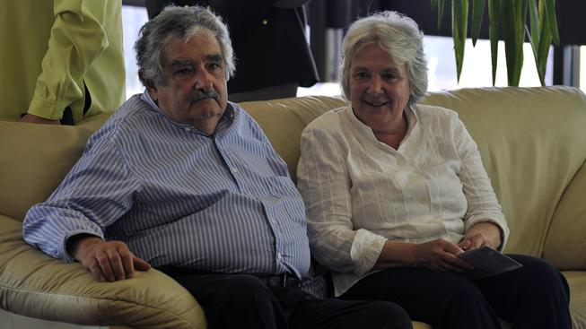 Uruguay, prezidentský pár