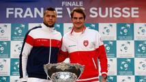 Švýcaři nastoupí ve finále Davis Cupu proti Francii i s Federerem
