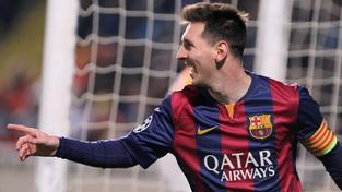 Lionel Messi je nejlepším střelcem v historii Ligy mistrů