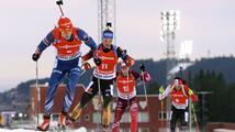 Moravec uzavřel ve sprintu desítku, biatlonistky zradila střelba