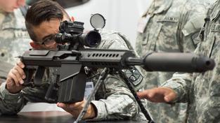 Puška M107A1 amerického výrobce Barrett