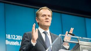 Nový předseda Evropské rady Donald Tusk.