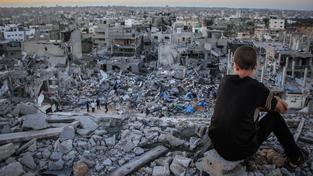 Pásmo Gazy je po padesátidenní válce takřka zničené.