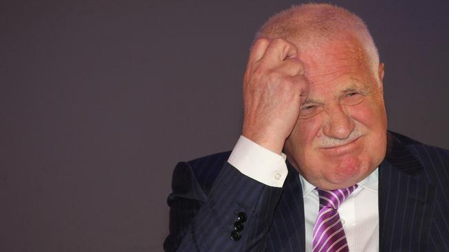 Václava Klause už nemají rádi ani v Rusku