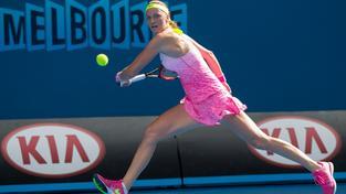 Petra Kvitová si v Melbourne zahraje o postup do osmifinále